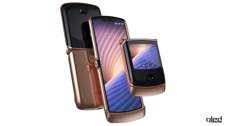 61707 Состоялся релиз складного смартфона Motorola Razr 5G