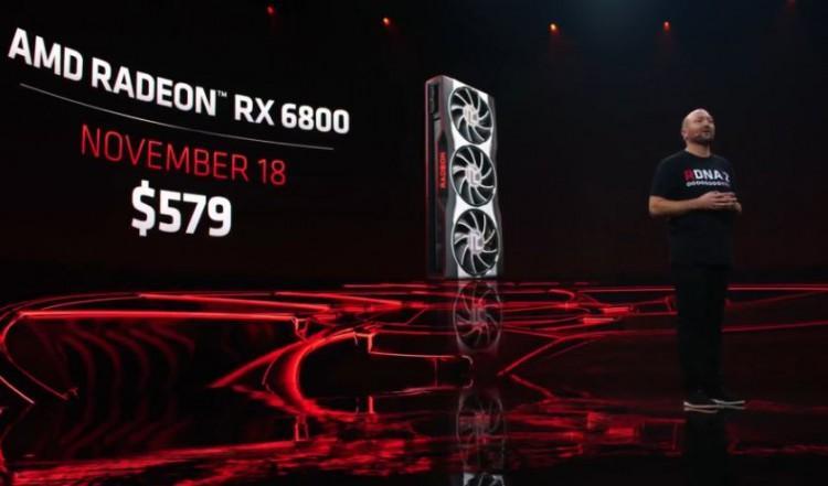 61868 Видеокарты AMD Radeon RX 6800 и RX 6800 XT подтверждены