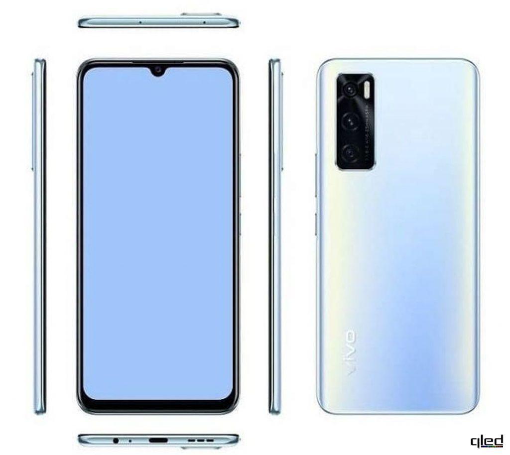 61855 Вышел новый недорогой смартфон Vivo V20 SE