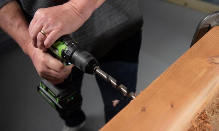 62014 Greenworks представила дрели-шуруповерты с инновационным бесщёточным двигателем