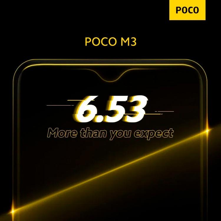 62069 Смартфон Poco M3 получит аккумулятор на 6000 мАч