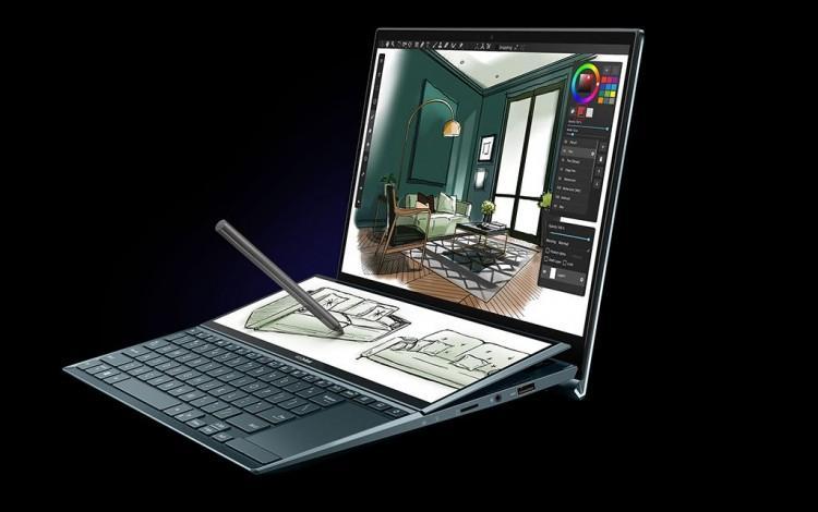 62624 Компания ASUS представила ноутбук ZenBook Duo UX482