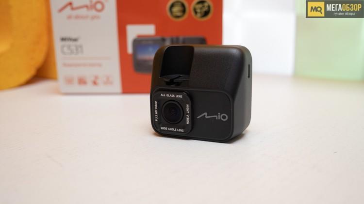 62833 Обзор Mio MiVue C531. Видеорегистратор с выводом предупреждений по камерам