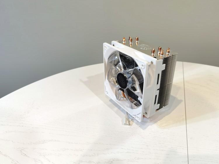 63054 Обзор Cooler Master HYPER 212 LED WHITE EDITION. Бюджетный башенный кулер в белом исполнении