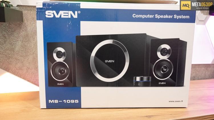 62981 Обзор SVEN MS-1095. Колонки 2.1 для компьютера и ноутбука