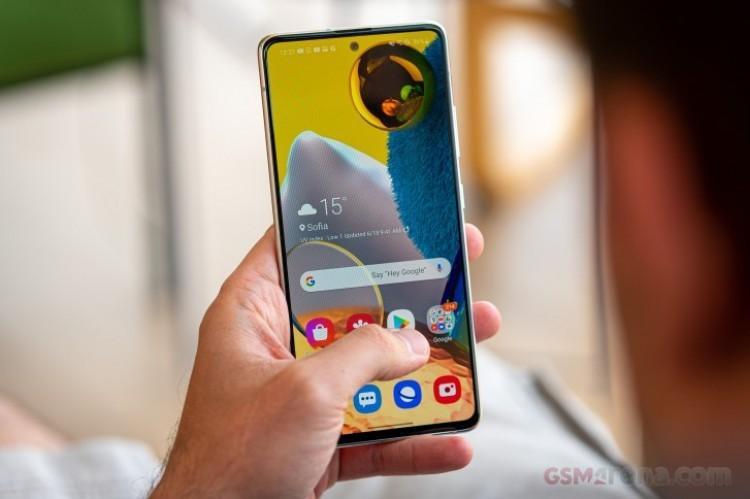 62876 Samsung Galaxy A51 получил стабильную версию Android 11
