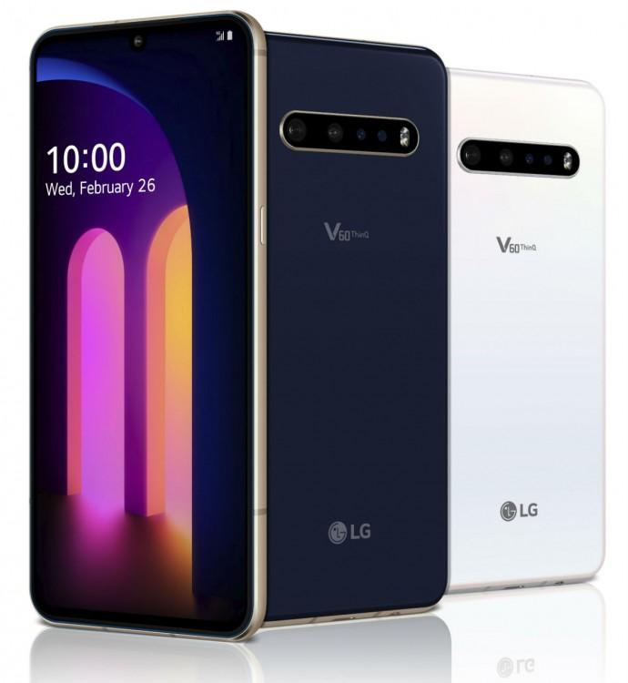 63082 LG V60 ThinQ получает обновление ОС Android 11