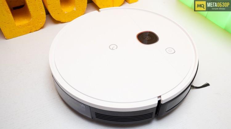 63231 Обзор Yeedi 2 Hybrid. Робот-пылесос с навигацией и насосом для подачи воды
