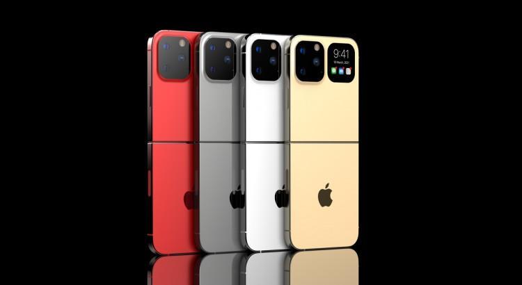 63203 Раскладной смартфон iPhone Flip показали на видео