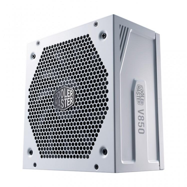 63174 Выпущен блок питания Cooler Master V850 Gold V2 White Edition в белом корпусе