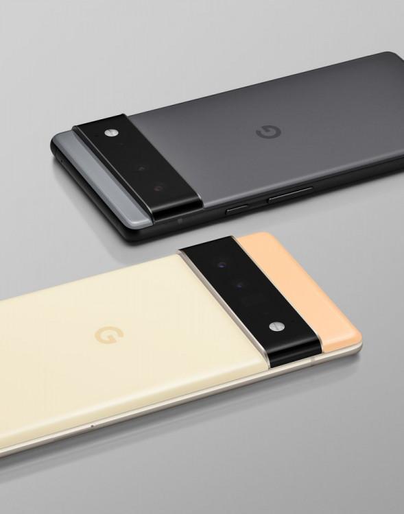 63400 Google рассекретила дизайн Pixel 6 и Pixel 6 Pro