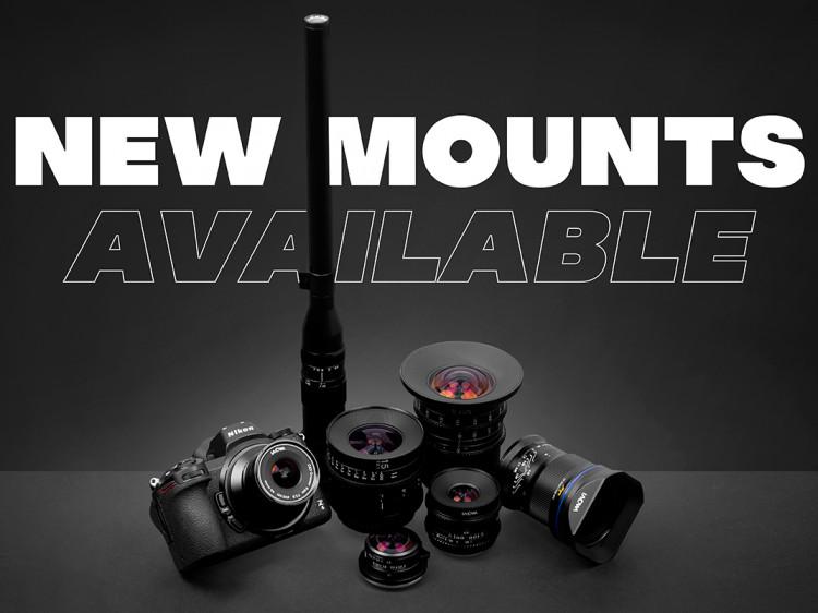 63557 Объектив Laowa Argus 33mm теперь в версии Canon EOS-M