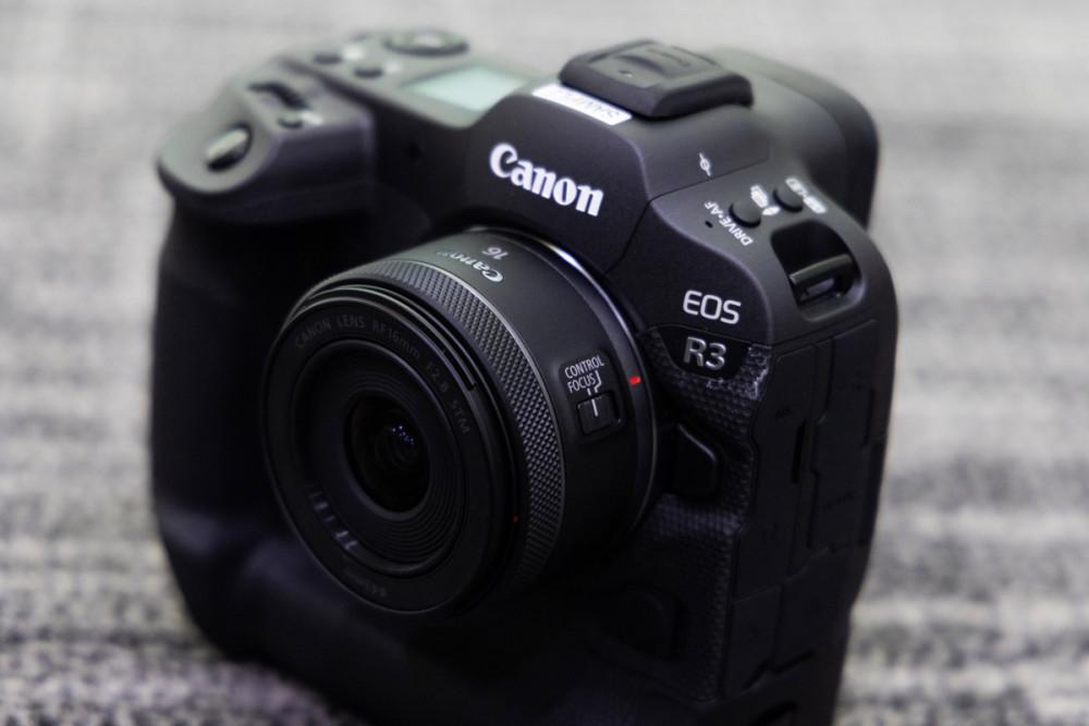 63655 Фотокамера Canon EOS R3 оценена в 6 тысяч долларов