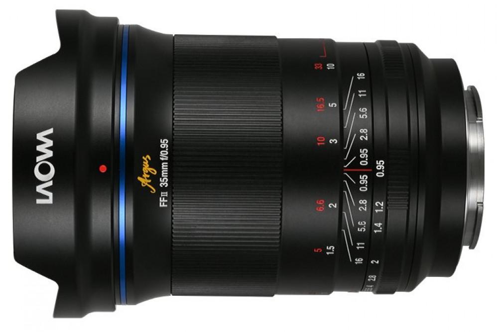 63621 Представлен объектив Laowa Argus 35mm f/0.95 FF