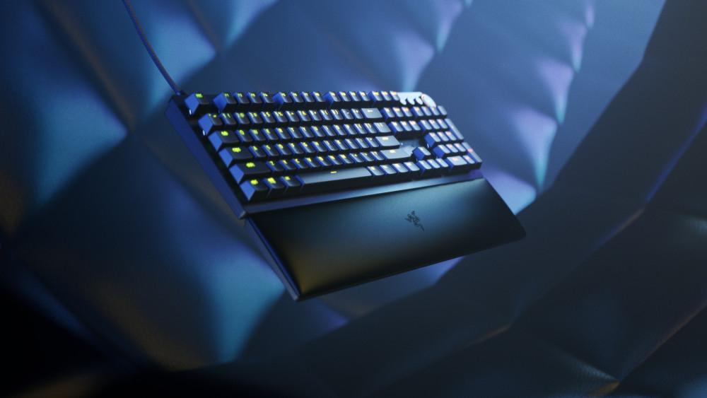 63662 Razer представила самую быструю игровую клавиатуру в мире Razer Huntsman V2