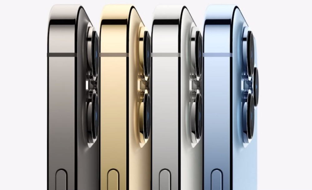 63647 Смартфоны iPhone 13 Pro и 13 Pro Max получили 120-Гц экраны
