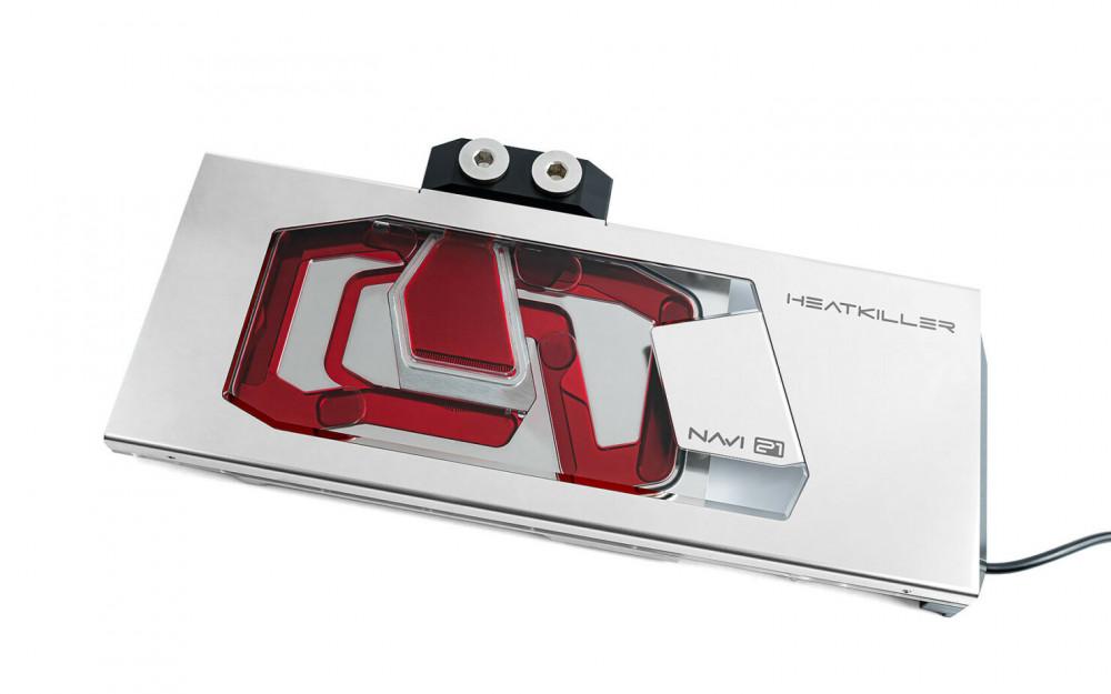 63605 Выпущен обновленный водоблок HEATKILLER V для видеокарт AMD RX 6800/6900XT от WATERCOOL