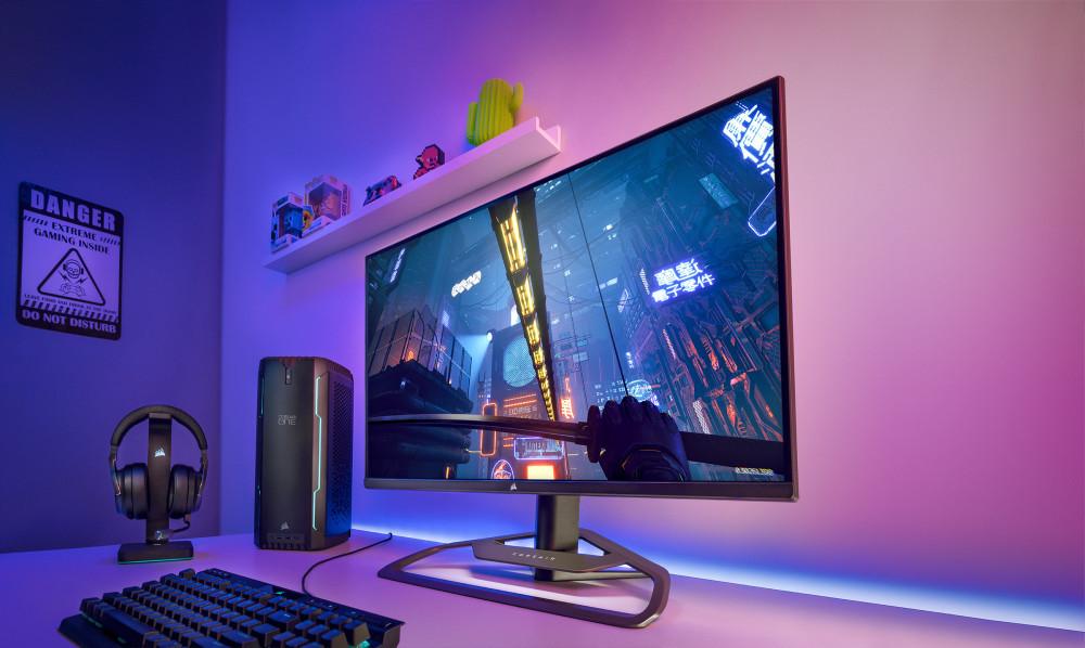 63751 Xeneon 32QHD165 первый игровой монитор компании Corsair